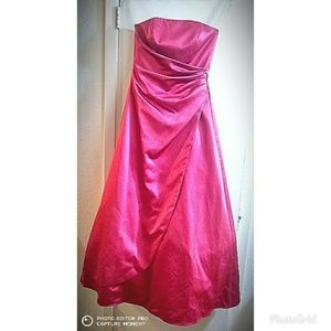 David's Bridal Dress pink